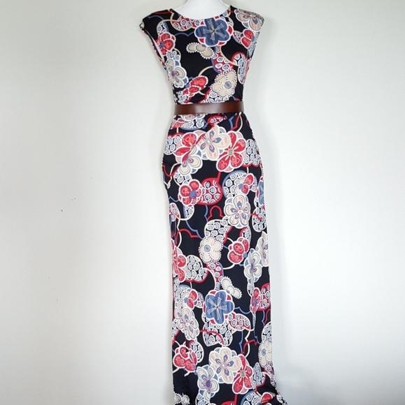 Rachael Dresses & Skirts - Rachel and Chloe floral maxi dress size medium
